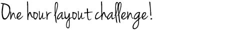 OneHourLayoutChallenge_header